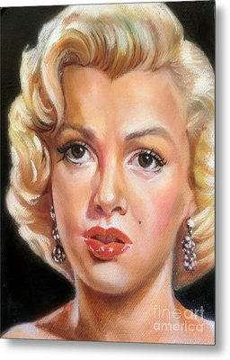 Marilyn Monroe Metal Print by Blackwater Studio