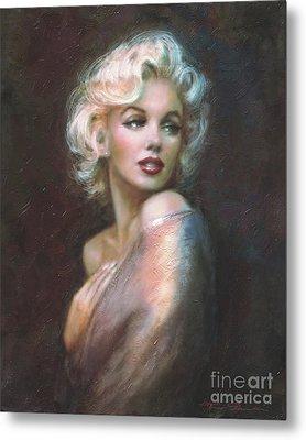 Marilyn Ww  Metal Print by Theo Danella