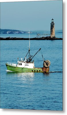 Maritime Metal Print by Greg Fortier