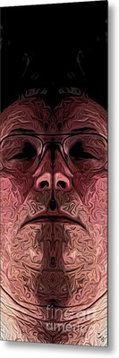 Marked Man Metal Print by Ron Bissett