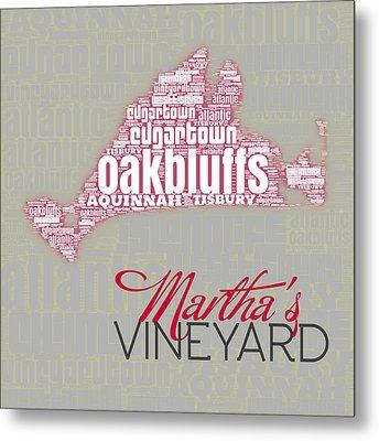 Martha's Vineyard 3 Metal Print by Brandi Fitzgerald