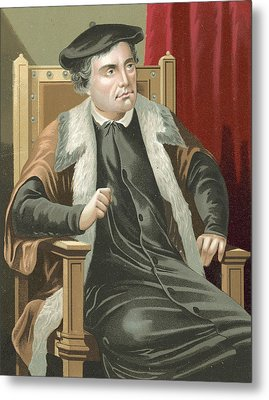 Martin Luther Metal Print by Spanish School