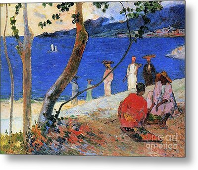 Martinique Island Metal Print by Paul Gauguin