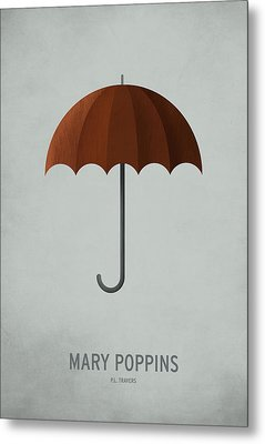 Mary Poppins Metal Print by Christian Jackson