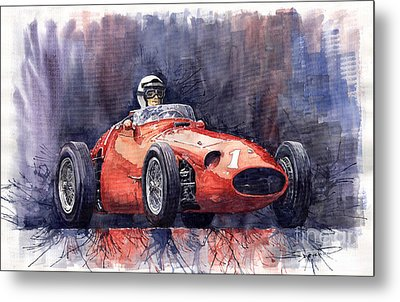 Maserati 250f Metal Print by Yuriy  Shevchuk