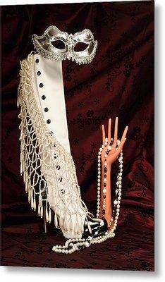 Masquerade Metal Print by Tom Mc Nemar