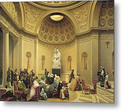 Mass In The Expiatory Chapel Metal Print by Lancelot Theodore Turpin de Crisse