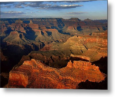 Mather Point - Grand Canyon Metal Print by Stephen  Vecchiotti