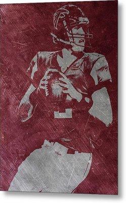 Matt Ryan Atlanta Falcons Metal Print by Joe Hamilton