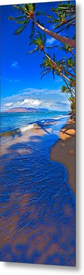 Maui Palms Metal Print by James Roemmling