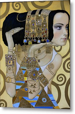 Mavlo - Klimt A Metal Print by Valeriy Mavlo