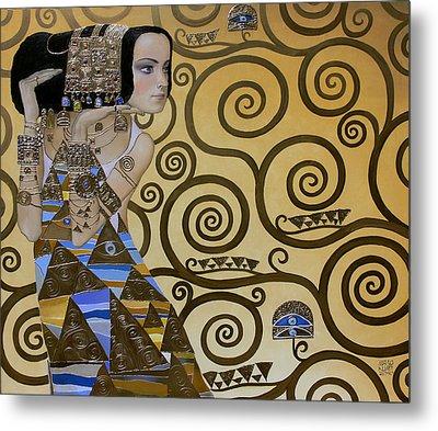 Mavlo - Klimt Metal Print by Valeriy Mavlo