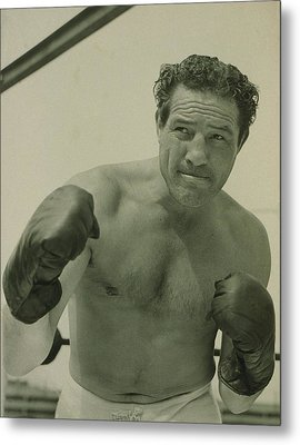 Max Baer 1909-1959, One-time Metal Print by Everett