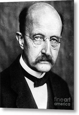 Max Planck  Metal Print by Granger