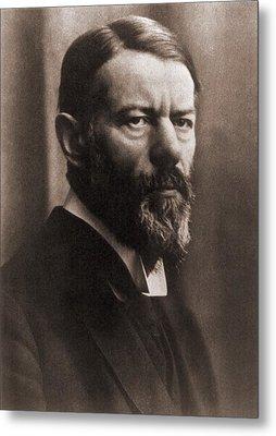 Max Weber 1864-1920, German Political Metal Print by Everett