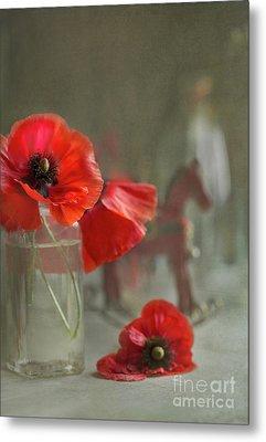 May Poppies Metal Print by Elena Nosyreva