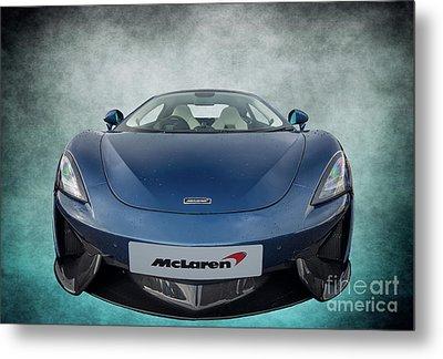 Mclaren Sports Car Metal Print by Adrian Evans
