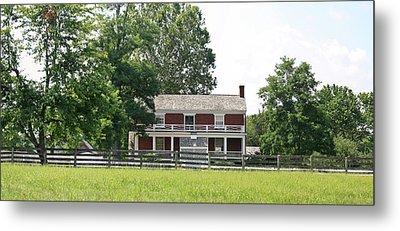 Mclean House Appomattox Court House Virginia Metal Print by Teresa Mucha
