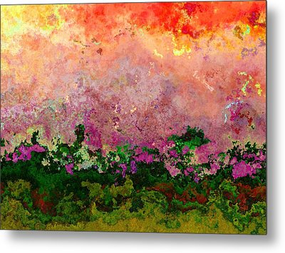 Meadow Morning Metal Print by Wendy J St Christopher