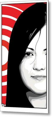 Meg White Of The White Stripes Metal Print by Jeff Nichol