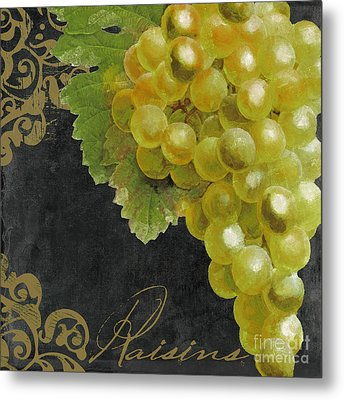 Melange Green Grapes Metal Print by Mindy Sommers