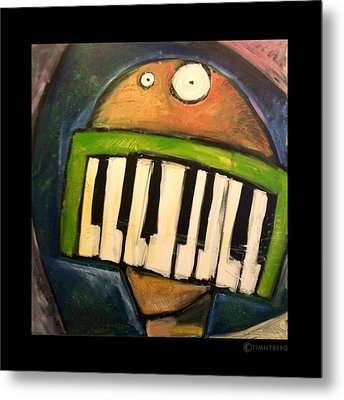 Melodica Mouth Metal Print by Tim Nyberg
