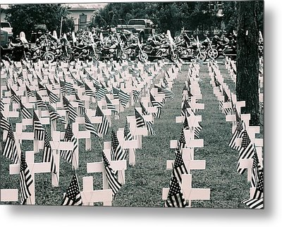 Memorial Day 2008 Stuart Fl 2 Metal Print by Don Youngclaus