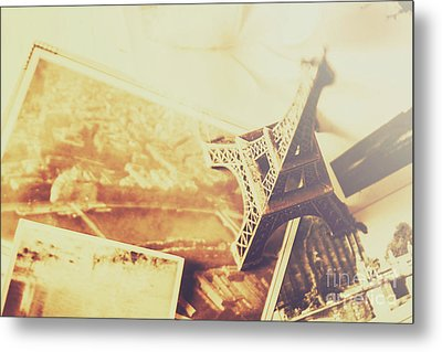 Memories And Mementoes Of Travelling France Metal Print by Jorgo Photography - Wall Art Gallery