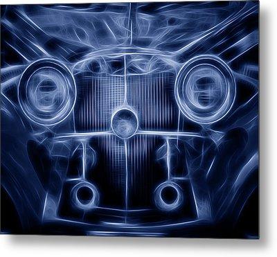Mercedes Roadster Metal Print by Tom Mc Nemar