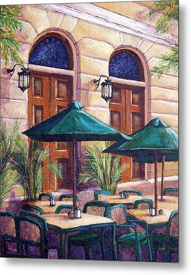 Merida Cafe Metal Print by Candy Mayer
