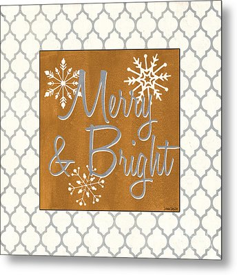 Merry And Bright Metal Print by Debbie DeWitt