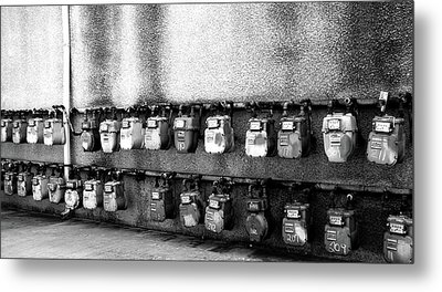 Meter Machines Metal Print by Jera Sky