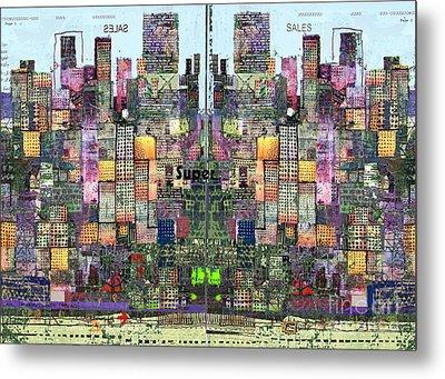 Metropolis Vi Metal Print by Andy  Mercer