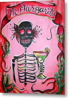 Mi Margarita Metal Print by Heather Calderon
