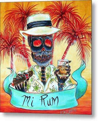 Mi Rum Metal Print by Heather Calderon