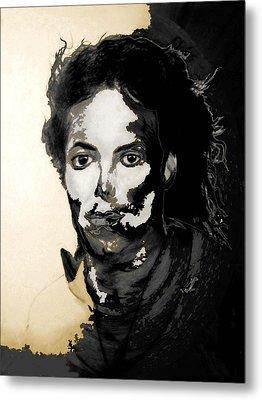 Michael J Metal Print by LeeAnn Alexander
