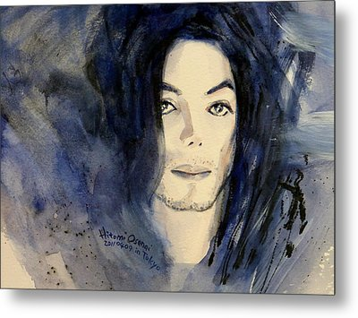 Michael Jackson - This Life Don't Last For Ever Metal Print by Hitomi Osanai