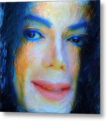 Michael Jackson 04 Metal Print by Yury Malkov