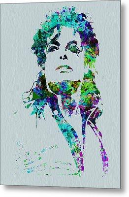 Michael Jackson Metal Print by Naxart Studio