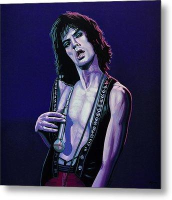 Mick Jagger 3 Metal Print by Paul Meijering