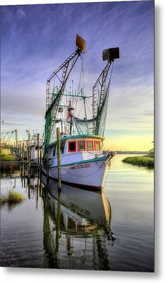Midnight Blues On The Bayou Metal Print by JC Findley