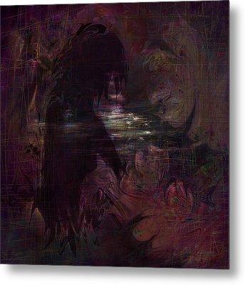 Midnight Dream Metal Print by Rachel Christine Nowicki
