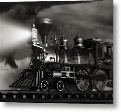 Midnight Flyer Metal Print by Tom Mc Nemar