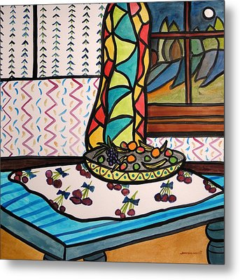Midnight In The Kitchen Metal Print by John Williams