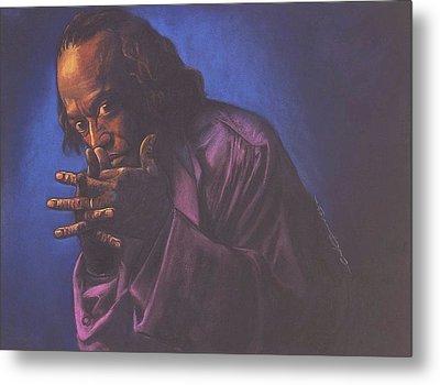 Miles Davis Metal Print by Curtis James