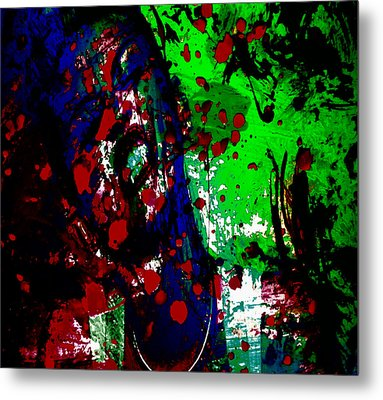 Miley Cyrus Doing My Thang II Metal Print by Brian Reaves