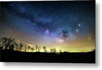 Milky Way Rising Metal Print by Bill Wakeley