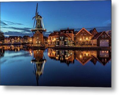 Mill, The Adriaan, Haarlem Metal Print by Reinier Snijders
