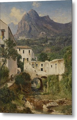 Mill Valley Near Amalfi Metal Print by Celestial Images