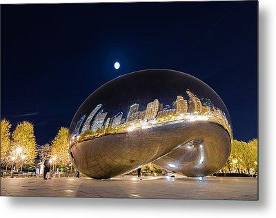 Millennium Park - Chicago Il Metal Print by Drew Castelhano